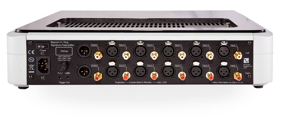 Bhk signature preamplifier ps audio