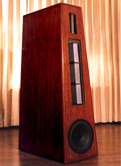 Sequerra ribbon speaker