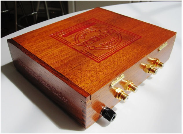 Cigar box back