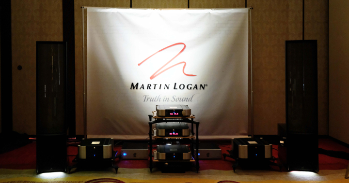 Martin Logan at Montreal Audio Fest 2018