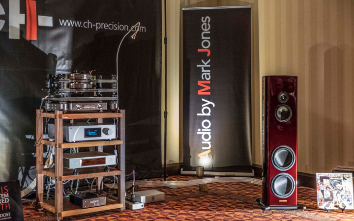 Audio by Mark Jones at Montreal Audio Fest 2018