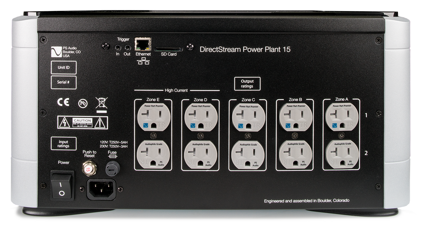 Directstream Power Plant P15 Ps Audio Generator Circuit Breakers Bring Advantages To Owners Overview