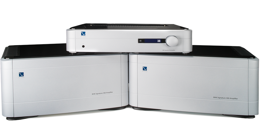 BHK Preamplifier and BHK 300 Amps