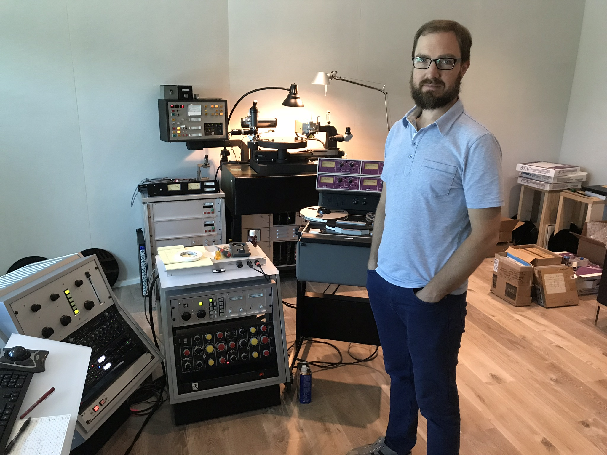 Articles Ps Audio Fender Super Reverb Speaker Wiring Diagram Mastering Engineer Ryan K Smith Stands In His Studio At Sterling Sound Nashville Behind Him Is A Customized Ampex Atr 100 With Mercury 3 Track Cued Up