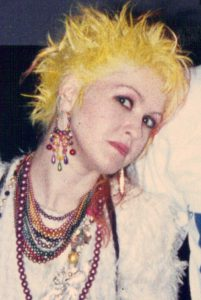 Cyndi Lauper, 1985. Courtesy of Wikimedia Commons/Toglenn.