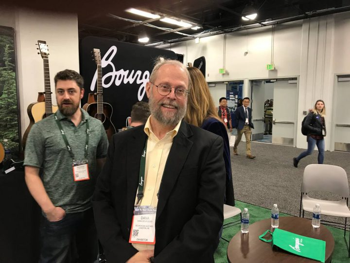 Dana Bourgeois, luthier, writer, and lecturer