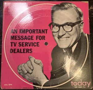 An Important Message for TV Service Dealers.