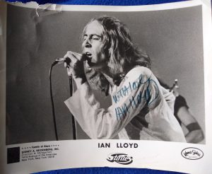 Ian Lloyd promo photo, courtesy of Kama Sutra Records.