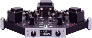 Manley Stingray integrated amplifier, made from 1997 – 2009 and replaced by the Stingray iTube and Stingray II.