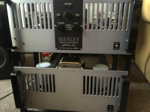 Manley 500 monoblock amplifier, built at VTL from 1998 – 1993.
