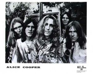 Alice Cooper in the early days.