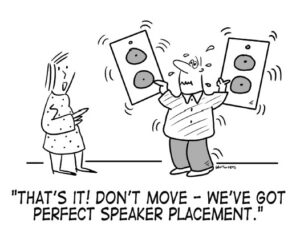 We think they've got it! From Audiophile's Guide: The Stereo by Paul McGowan. Illustration by James Whitworth.