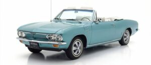A 1966 Corvair like the one Ken owned.