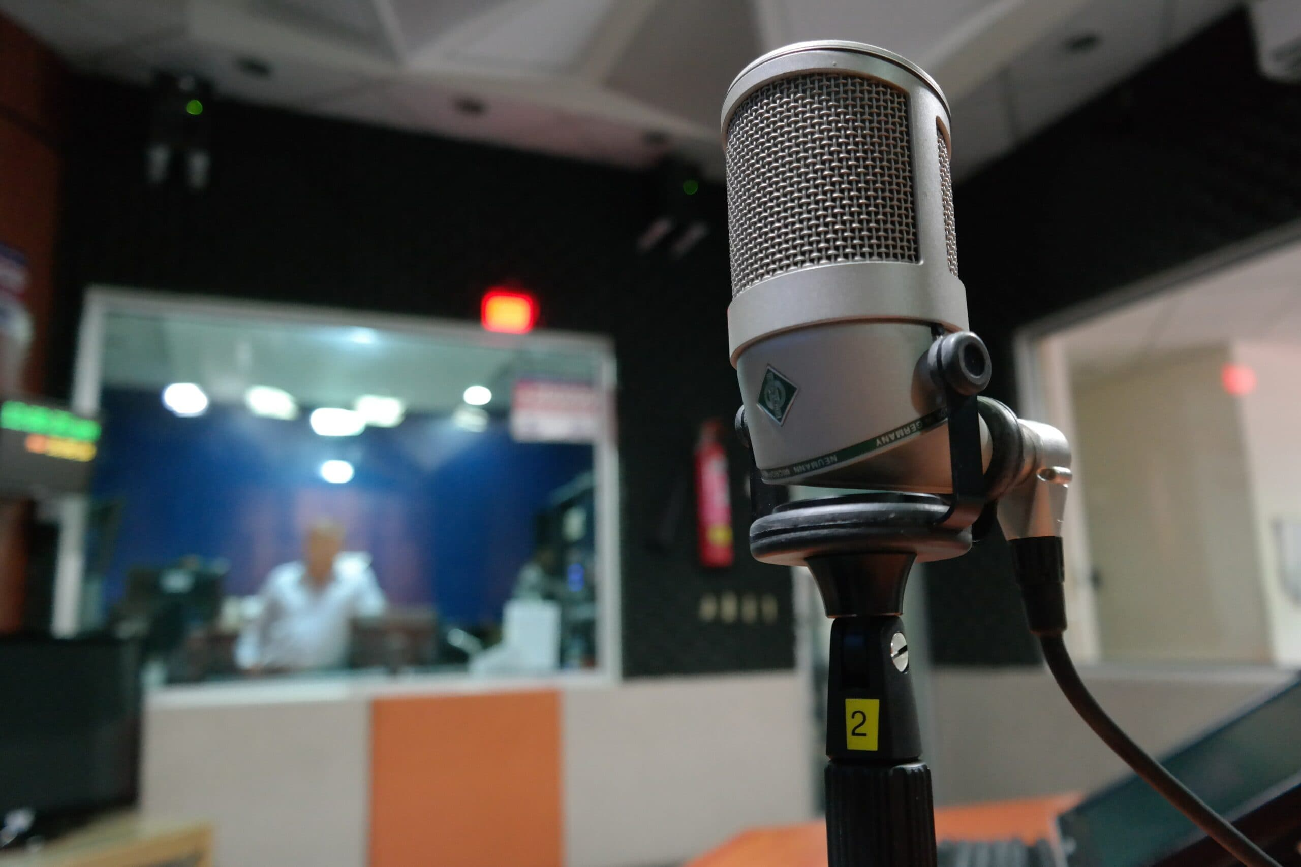 The song doesn't remain the same: as soon as the sound hits the mic, even an excellent one like this Neumann, it loses something.