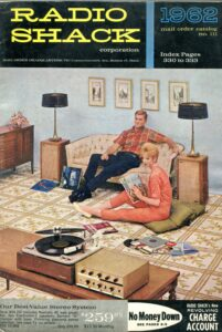 Guess this 1962 RadioShack catalog didn't include any tips on speaker placement.