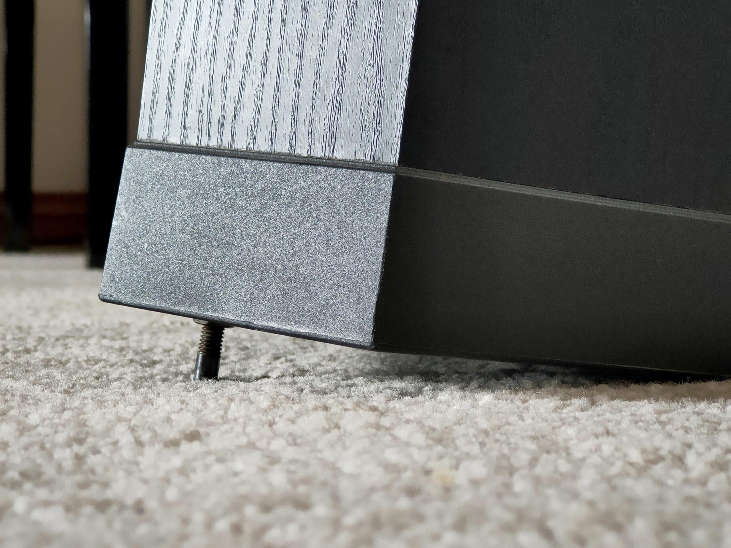 In some cases, tilting speakers back can yield sonic improvement.
