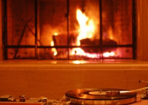 Serving suggestion: Best enjoyed by the fireplace. Photo courtesy of Agnew Analog Reference Instruments.