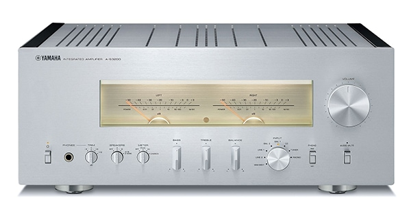 A-S3200 integrated amplifier.