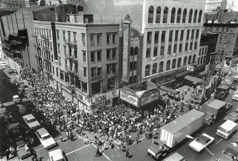 Thanksgiving at the Fillmore East