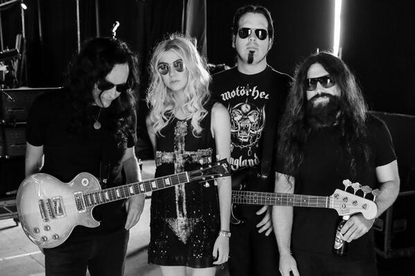 The Pretty Reckless. Courtesy of Wikimedia Commons/Samuel J. Rodrigues.
