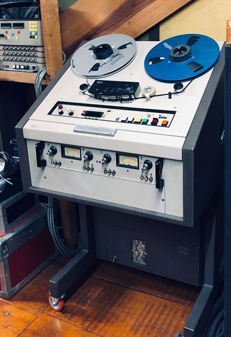 An MCI JH-110, in the variable profile cabinet. Photo courtesy of Sabik Chaparro.