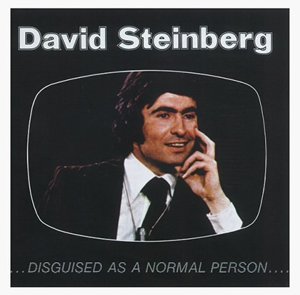 David Steinberg, Disguised as a Normal Person album cover.
