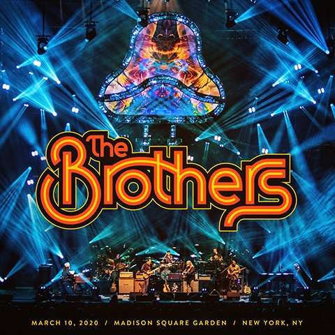 The Brothers, March 10, 2020 Madison Square Garden album cover.