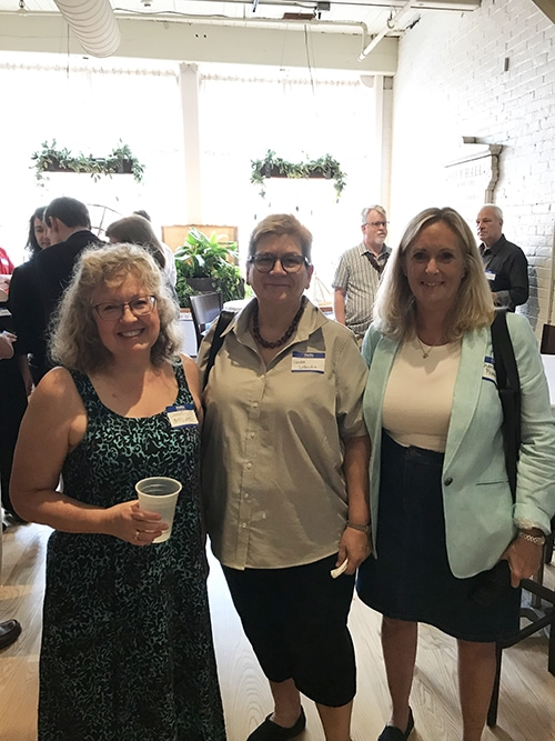 Janet Dudley, Laura LoVecchio and Sharon Fremer.