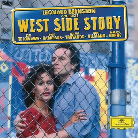 """""""West Side Story"""" cover."""