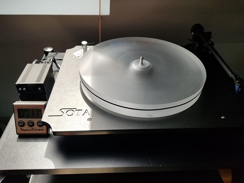 Don's Escape turntable. Photo by Don Lindich.